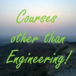Good courses other than Engineering after 12th Science