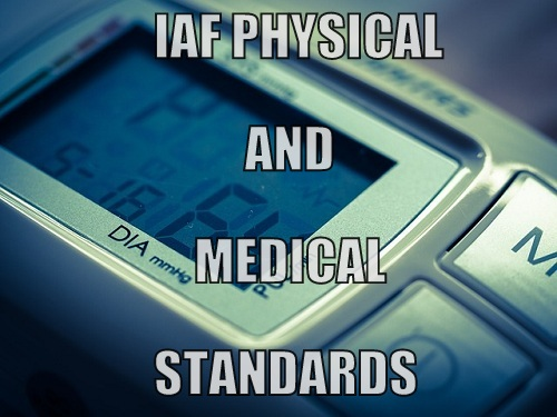 Indian Air Force Physical And Medical Standards All Details