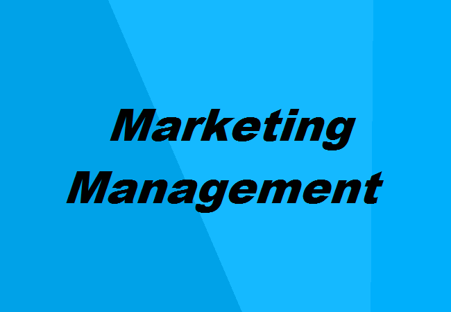 course outline marketing management Introduction to sales and marketing course outline suggested contractual language and risk management practices this course provides a complement to.