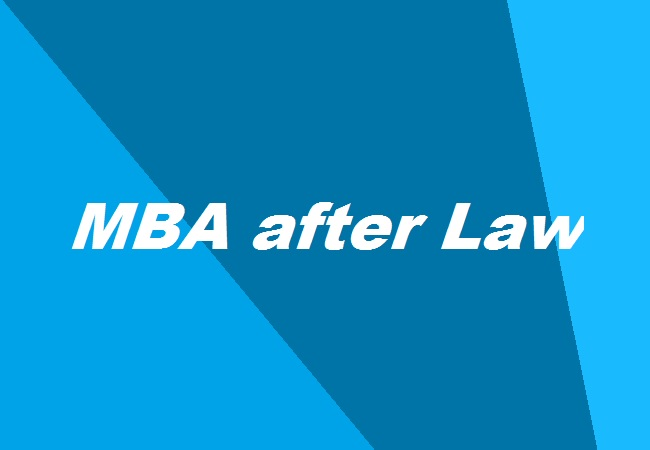 Mba After Law Career Prospects Scope Relevant Specializations