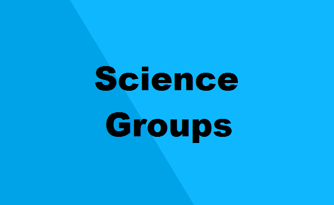 List of Science Stream Groups | Group-Wise Courses After 12th