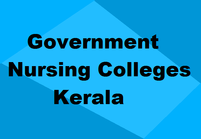 Best Government Nursing Colleges In Kerala Courses Admission